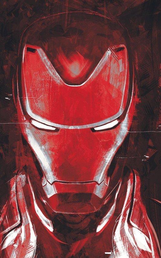 Avengers: Endgame: Iron Man v bílém a další nové artworky | Fandíme filmu