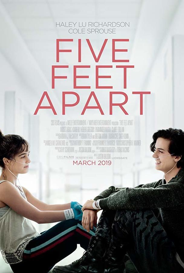 Five Feet Apart - milostný příběh, kterému nepřál osud | Fandíme filmu