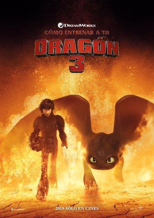Jak vycvičit draka 3: Mezinárodní trailer a první ohlasy | Fandíme filmu