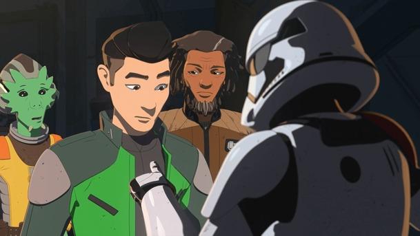 Star Wars: Resistance: Minirecenze 15. epizody   Fandíme serialům