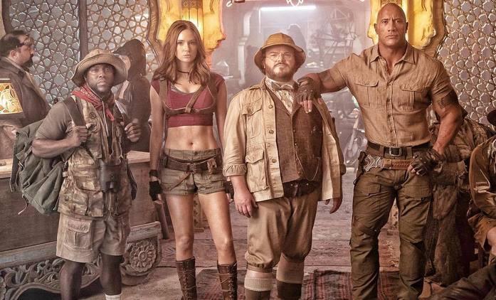 Jumanji 3: Ústřední čtyřka opět spolu na nové fotce   Fandíme filmu
