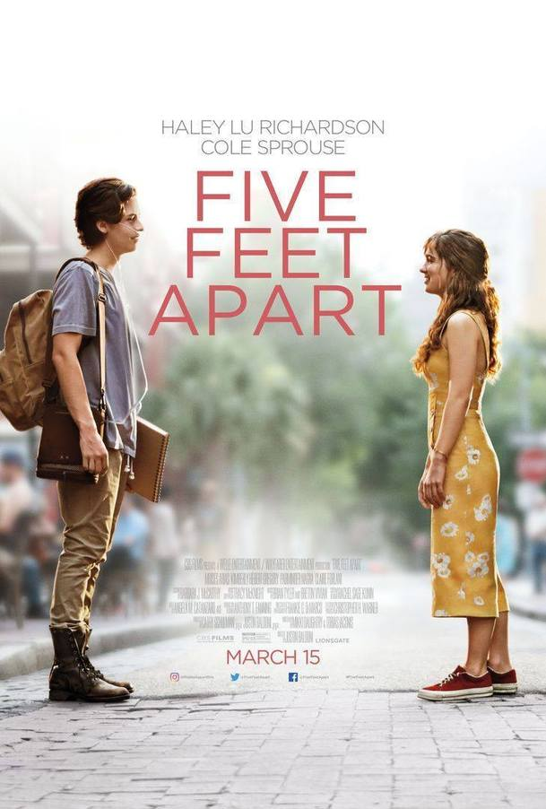 Five Feet Apart: Nové klipy z romance ala Hvězdy nám nepřály   Fandíme filmu