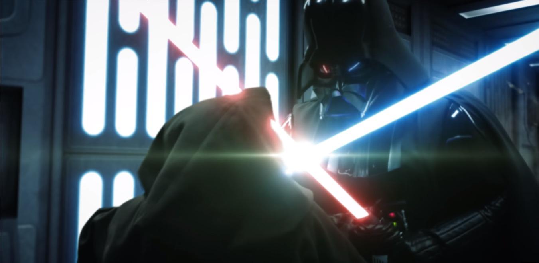 Star Wars: Podívejte se na novou, nabušenější verzi souboje Obi-Wana s Darth Vaderem | Fandíme filmu