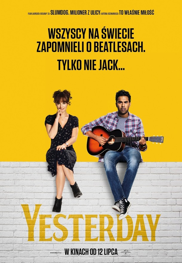 Recenze: Yesterday - Vtipná romance říznutá Beatles? To nemůže nefungovat   Fandíme filmu