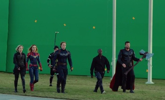 Avengers: Endgame: Trikaři názorně ukazují, jak vytvářeli jednotlivé scény | Fandíme filmu