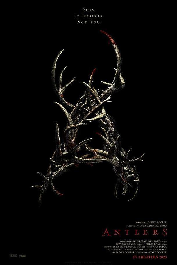 Antlers: Ochutnejte kousavý horor, ve kterém chlapeček krmí lidožravé monstrum   Fandíme filmu