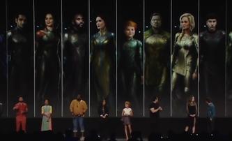 The Eternals budou dosud nejvíc sci-fi film od Marvelu. Je tu první plakát | Fandíme filmu