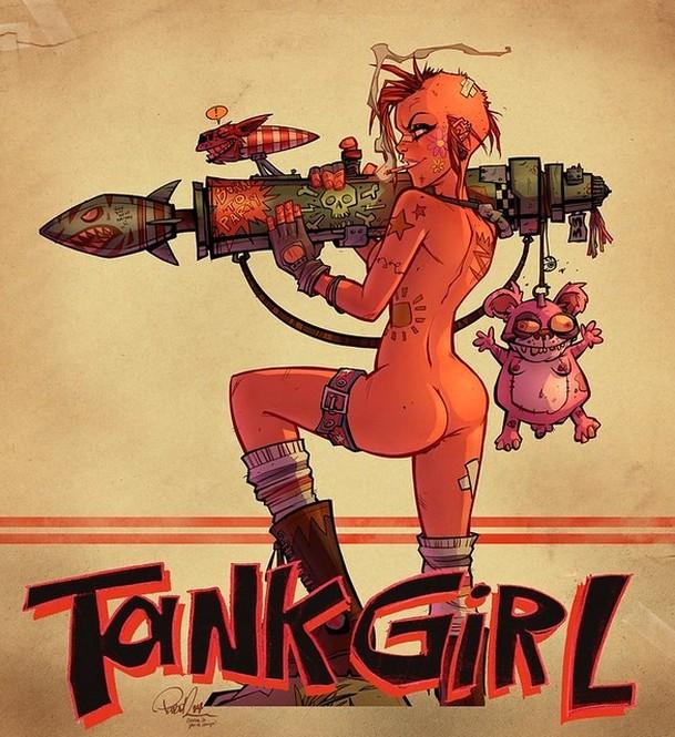 Tank Girl: Margot Robbie chystá punkový biják o holce z tanku, co randí se zmutovaným klokanem | Fandíme filmu