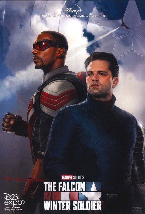 The Falcon and The Winter Soldier: První pohled na US Agenta a další postavy | Fandíme filmu