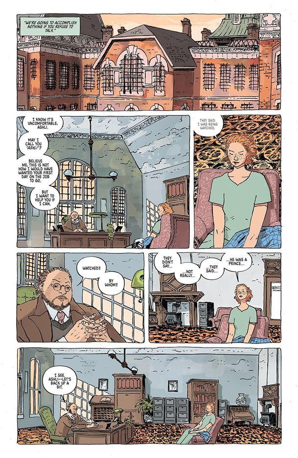 The Unsound: Režisér Shazama si vyhlédl hororový komiks, který se odehrává v blázinci   Fandíme filmu