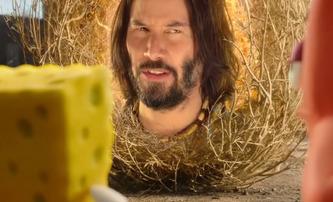 SpongeBob ve filmu: Houba na útěku: Keanu Reeves jako mluvící roští a další blbiny v prvním traileru | Fandíme filmu