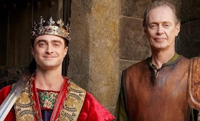 Nebe s.r.o.: Ukázka představuje novou sérii s Danielem Radcliffem natáčenou v Česku | Fandíme seriálům