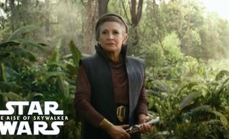 Star Wars: Vzestup Skywalkera budou kratší než se čekalo a nový spot ukazuje Leiu se světelným mečem | Fandíme filmu