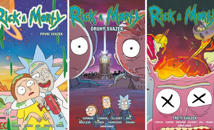 Rick a Morty: Komiksová verze skvělého seriálu je fanouškům dostupná i v Češtině | Fandíme seriálům