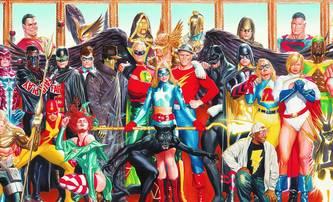 Justice Society of America: Po The Rockových zádech se může vyšplhat další nová komiksovka | Fandíme filmu