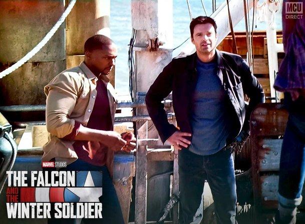 The Falcon and The Winter Soldier: První fotky padoucha Zema   Fandíme filmu