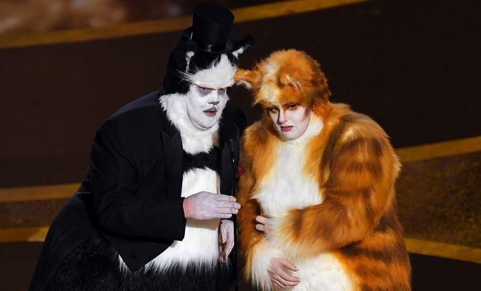 Cats: Posmívání trikařům na Oscarech vyprovokovalo roztržku   Fandíme filmu