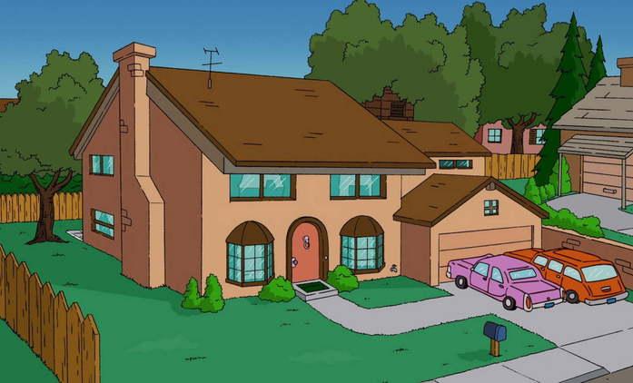 Prohlédněte si dům Simpsonových ve 3D | Fandíme seriálům