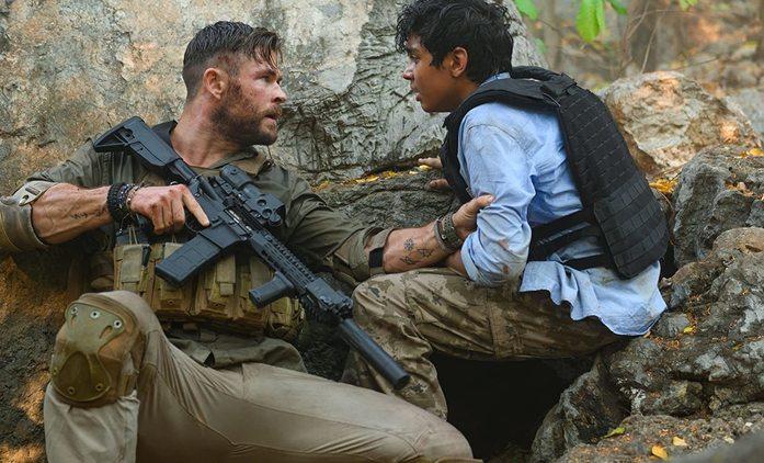 Vyproštění: Chris Hemsworth jako žoldák zachraňuje syna drogového magnáta | Fandíme filmu