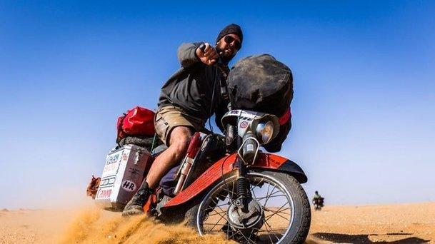 Afrikou na pionýru: Cestopis od člena trabantí party místo do kin míří online | Fandíme filmu