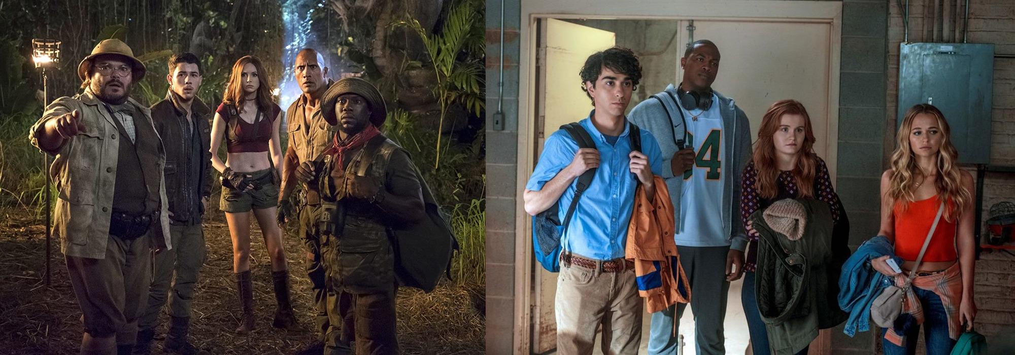 Jumanji: Příští film může spojit skutečné i herní postavy   Fandíme filmu