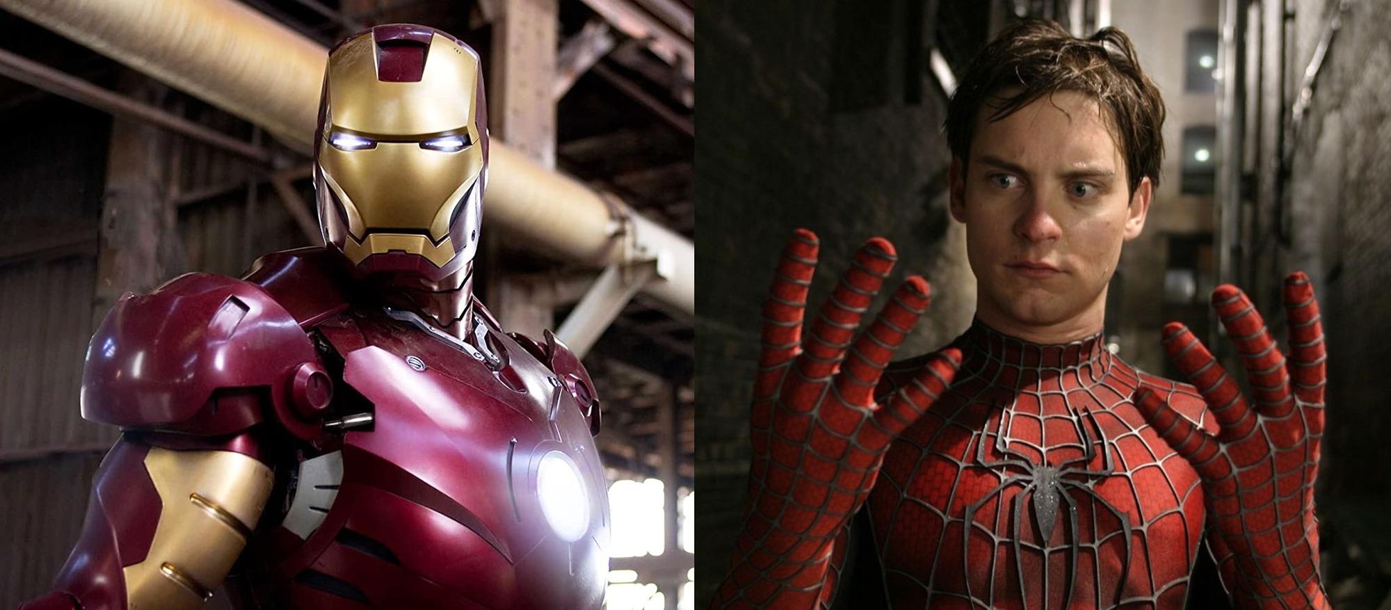 Marvel chtěl propojit Iron Mana se starým Spider-Manem   Fandíme filmu