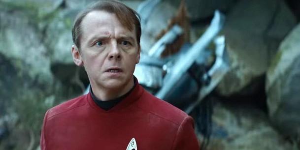 Star Trek: Simon Pegg stále vidí filmovou budoucnost značky černě   Fandíme filmu