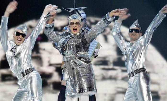 Nejbláznivější vystoupení Eurovize   Fandíme seriálům
