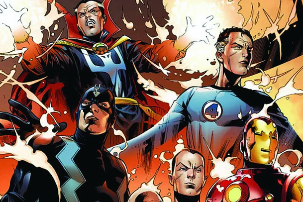 Marvel's Illuminati: Na obzoru se rýsuje nový superhrdinský tým   Fandíme filmu