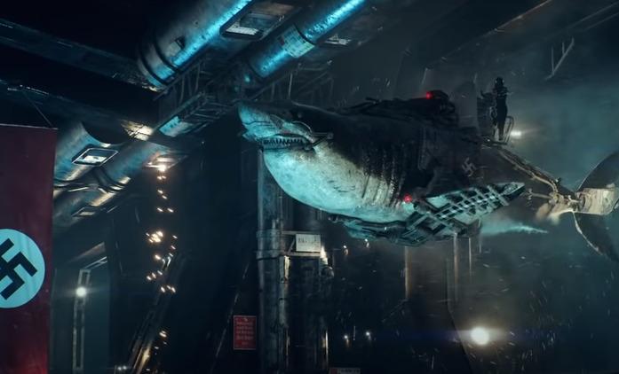 Sky Sharks: Krvelační létající žraloci, zombie a nacisté působí peklo v první ukázce | Fandíme filmu