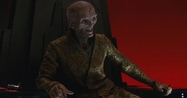 Star Wars: Postava Snokea původně ženskou podobu | Fandíme filmu