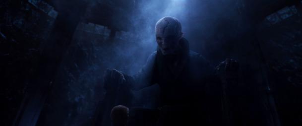 Star Wars: Postava Snokea původně ženskou podobu   Fandíme filmu