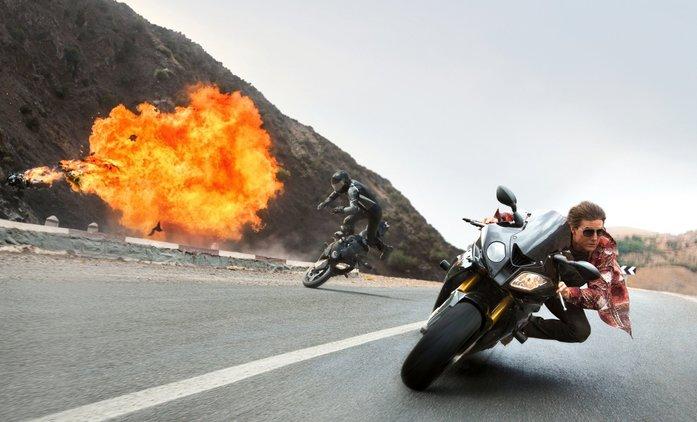 Mission: Impossible 7: Při natáčení motocyklové scény došlo k nehodě   Fandíme filmu
