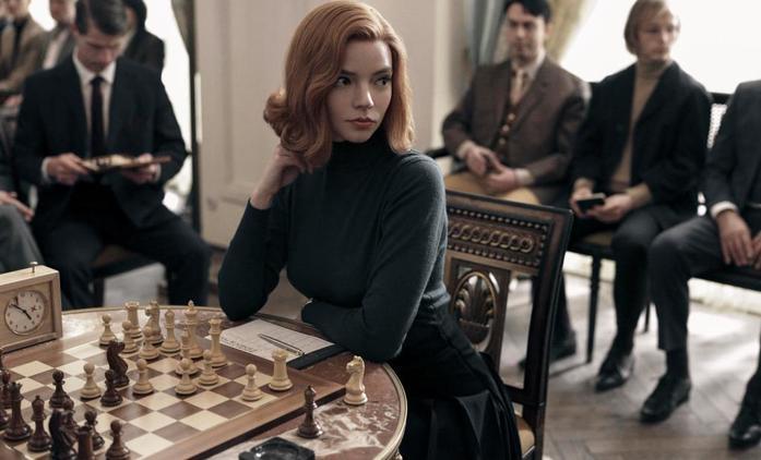 The Queen's Gambit: První ukázka potvrzuje, že i šachy mohou přinést strhující drama | Fandíme seriálům