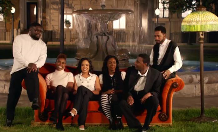 Skupina známých černošských herců zrekonstruuje epizodu Přátel. Dojde jednou na kompletní remake? | Fandíme seriálům