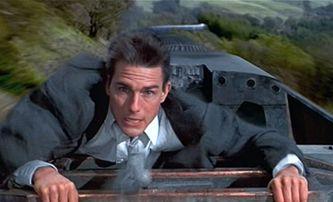 Mission: Impossible 7 natáčí akční scénu na střeše rozjetého vlaku | Fandíme filmu