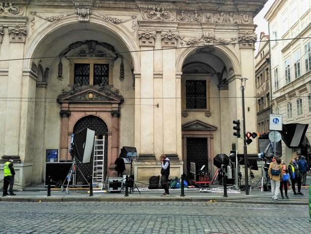 Marvel spustil natáčení v Česku. Víme, jaké lokality Praha představuje a máme fotky   Fandíme filmu