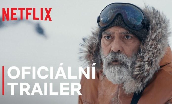 Půlnoční nebe: George Clooney v upoutávce na novou sci-fi zachraňuje poslední lidi   Fandíme filmu