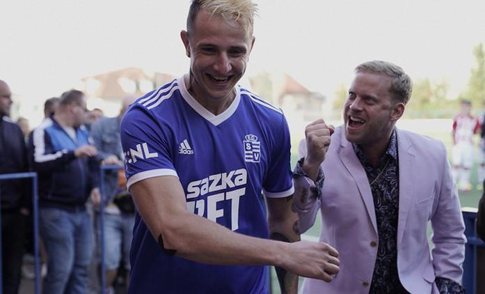 Vyšehrad: Vypatlaný fotbalista Julius Lavický se chystá na plátna kin   Fandíme filmu