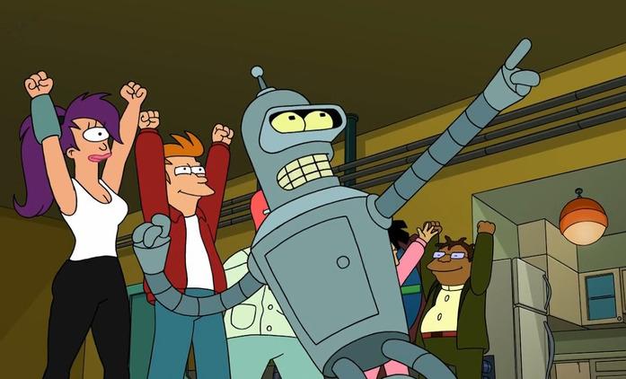 Futurama: Herci jsou otevření případnému návratu   Fandíme seriálům