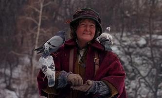 Sám doma 2: Ironií osudu holubí dáma strávila neradostné svátky v osamění | Fandíme filmu