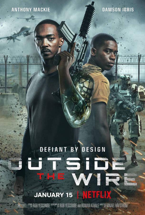 Recenze: Za čárou - Supervoják Anthony Mackie chce zachránit svět po svém   Fandíme filmu