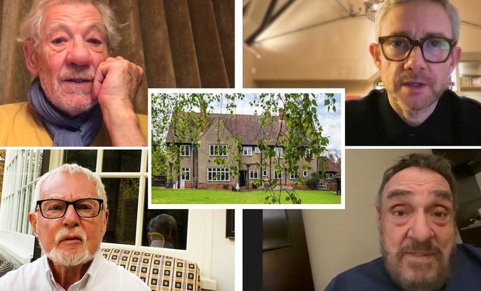 Gandalf, Bilbo, Gimli a spol. se snaží zachránit Tolkienův dům   Fandíme filmu