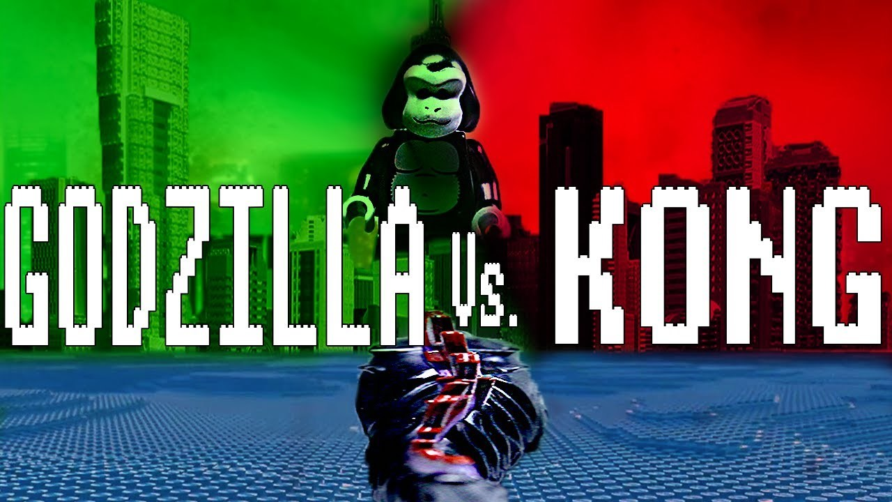 Godzilla vs. Kong - Lego srandička | Fandíme filmu