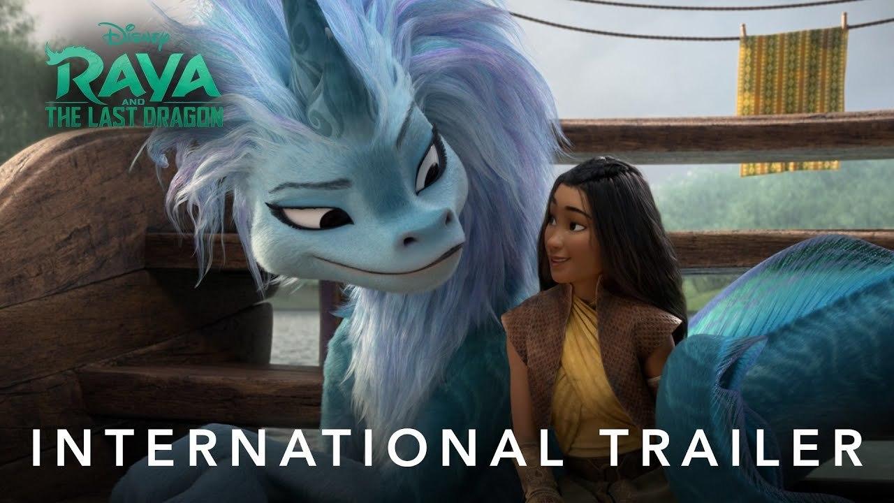 Raya a drak - Mezinárodní trailer | Fandíme filmu