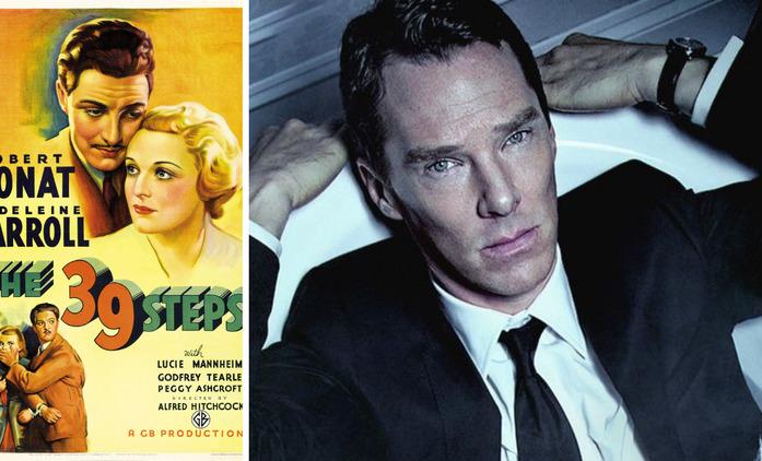 The 39 Steps: Benedict Cumberbatch si zahraje v seriálovém remaku Hitchcockova thrilleru | Fandíme seriálům