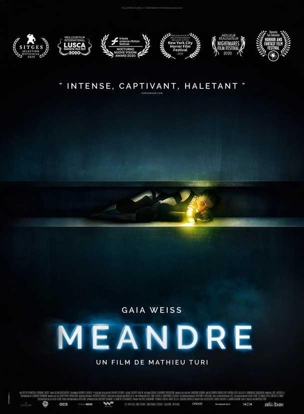 Meander: Nový trailer láká na horor v klaustrofobickém potrubí   Fandíme filmu