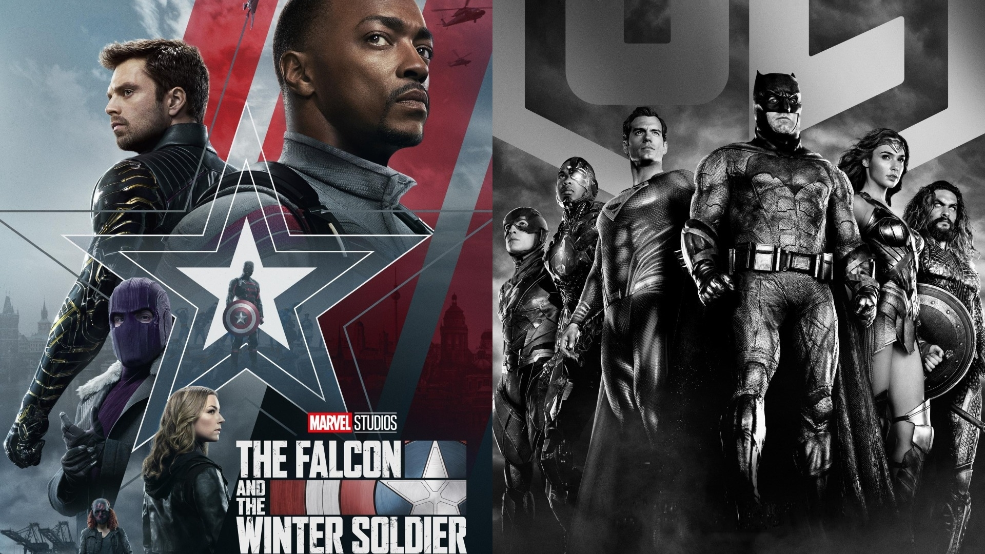 Recenze: The Falcon and The Winter Solider a Justice League | Fandíme filmu