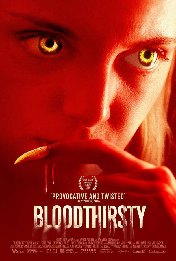Bloodthirsty: Zpěvačka se postupně mění ve vlkodlaka a čelí krvavým choutkám | Fandíme filmu