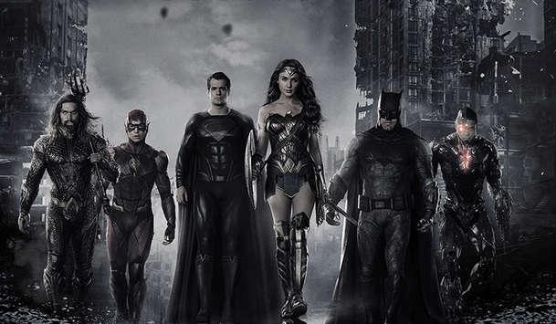Liga spravedlnosti Zacka Snydera: Černobílá verze dorazila, snímek míří do kin | Fandíme filmu